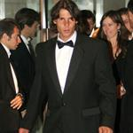 Rafael Nadal at Wimbledon ball after his victory over Roger Federer 22121