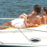 Rafael Nadal relaxes on a yacht with girlfriend Xisca 22368