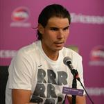 Rafael Nadal at Sony Ericsson press conference in Miami 109631