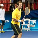 Pete Sampras at DIRECTV Old School Challenge 92847