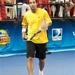 Pete Sampras at DIRECTV Old School Challenge 92848