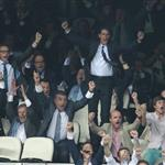 Rafael Nadal at the Champions League first round between Real Madrid and Manchester City 126864