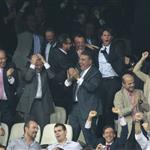 Rafael Nadal at the Champions League first round between Real Madrid and Manchester City 126868