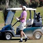 Rafael Nadal plays golf 22292