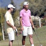 Rafael Nadal plays golf 22287