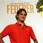 Rafael Nadal and Roger Federer at Grapple in the Apple press conference 23887