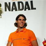 Rafael Nadal and Roger Federer at Grapple in the Apple press conference 23890