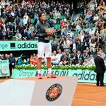 Rafael Nadal at the 2012 French Open 117173
