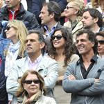 Rafael Nadal's family members at the 2012 French Open 117174