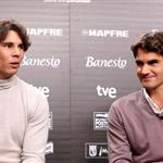 Rafael Nadal and Roger Federer play charity matches to end the year 2010  75621