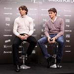 Rafael Nadal and Roger Federer play charity matches to end the year 2010  75622
