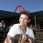 Jackson Rathbone promotes Last Airbender at Six Flags Discovery Kingdom 63606