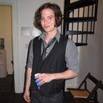 Jackson Rathbone at WordTheatre Pushcart Press Benefit reading and performing  41911