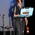 Jackson Rathbone at WordTheatre Pushcart Press Benefit reading and performing  41910