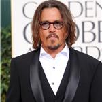 Johnny Depp at the Golden Globes 2011 76966