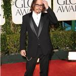 Johnny Depp at the Golden Globes 2011 76970