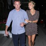 Guy Ritchie with new girlfriend in London August 2010 67010