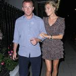 Guy Ritchie with new girlfriend in London August 2010 67011
