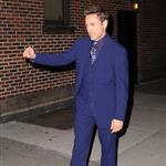 Robert Downey Jr at Letterman 52306