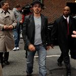 Robert Downey Jr arrives at David Letterman to promote Iron Man 2 59833