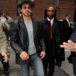 Robert Downey Jr arrives at David Letterman to promote Iron Man 2 59835