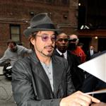 Robert Downey Jr arrives at David Letterman to promote Iron Man 2 59837