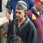 Robert Downey Jr on set of Sherlock Holmes: A Game of Shadows in London 94882