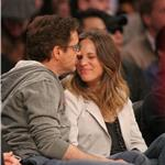Robert Downey Jr and wife Susan courtside at LA Lakers game  81435