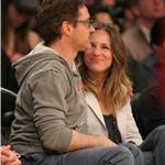 Robert Downey Jr and wife Susan courtside at LA Lakers game  81439