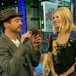 Robert Downey Jr and Gwyneth Paltrow promote Iron Man on TRL 20104