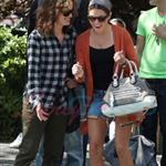 Nikki Reed and Elizabeth Reaser in Vancouver for Eclipse 45320