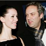Rebecca Hall and Sam Mendes attend a special screening of Starter For Ten at the Tribeca Grand Screening Room February 2007 99373