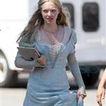 Amanda Seyfried on set of Red Riding Hood in Vancouver 65802