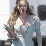 Amanda Seyfried on set of Red Riding Hood in Vancouver 65803