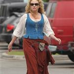 Virginia Madsen on set of Red Riding Hood in Vancouver 65810