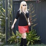Reese Witherspoon leaves a friend's house in Brentwood 109476