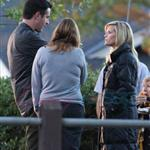 Reese Witherspoon and Tom Hardy on set of This Means War in Vancouver  69731