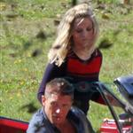 Tom Hardy Reese Witherspoon shoot This Means War 69846