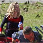 Tom Hardy Reese Witherspoon shoot This Means War 69847