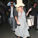 Reese Witherspoon arrives at LAX with her husband Jim Toth 117109