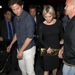 Renee Zellweger and Bradley Cooper go out for dinner with Alyssa Milano 70477