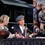 Renee Zellweger George Clooney in Minnesota to promote Leatherheads 18689