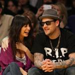 Nicole Richie and Joel Madden's date night at the Laker game 52742