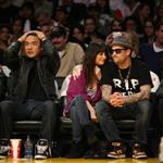 Nicole Richie and Joel Madden's date night at the Laker game 52746