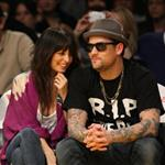 Nicole Richie and Joel Madden's date night at the Laker game 52747