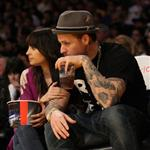 Nicole Richie and Joel Madden's date night at the Laker game 52748
