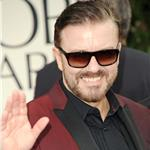 Ricky Gervais at the 2012 Golden Globe Awards  102732