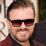Ricky Gervais at the 2012 Golden Globe Awards  102734