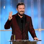 Ricky Gervais hosts the 2012 Golden Globe Awards  102738