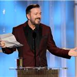 Ricky Gervais hosts the 2012 Golden Globe Awards  102740